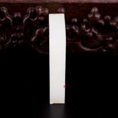 【琢艺轩】新疆和田玉洒金皮一级白玉籽玉 原石 59克