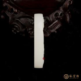 【琢藝軒】穆宇靜 新疆和田玉籽玉玉牌 生肖守護神之阿彌陀佛 51克