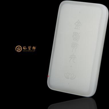 【琢艺轩】穆宇静 新疆和田白玉籽玉牌子 金刚亥母 95克