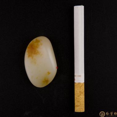 【琢藝軒】新疆和田紅皮一級白玉籽玉 原石 20.2克