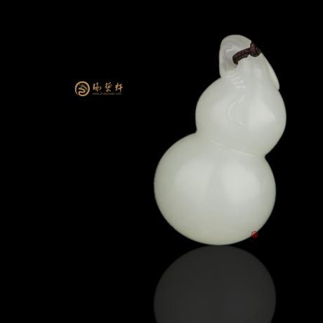 新疆和田白玉籽玉挂件 安康 12克